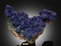 Minerals:Cabinet Specimens, Azurite. Copper Queen Mine, Queen Hill, Bisbee, WarrenDistrict, Mule Mts, Cochise Co., Ar...