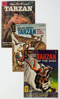 Silver Age (1956-1969):Adventure, Tarzan Group of 40 (Dell/Gold Key/DC, 1957-73) Condition: Average VG-.... (Total: 40 Comic Books)