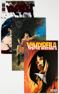 Modern Age (1980-Present):Horror, Vampirella Related Short Box Group (Various Publishers, 1990s-2000s) Condition: Average NM-....