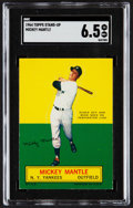 Baseball Cards:Singles (1960-1969), 1964 Topps Stand-Up Mickey Mantle SGC EX/NM+ 6.5....