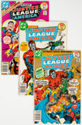 Modern Age (1980-Present):Science Fiction, Justice League of America Related Short Box Group (DC, 1981-93)Condition: Average NM-....