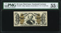 Fractional Currency:Third Issue, Fr. 1340 50¢ Third Issue Spinner Type II PMG About Uncirculated 55 EPQ.. ...