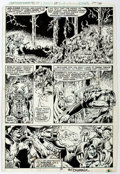 Original Comic Art:Panel Pages, Pat Broderick and Bruce Patterson Captain Marvel #59 Story Page 15 Original Art (Marvel, 1978)....