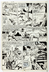 Syd Shores and Wally Wood Marvel Spotlight #1 Story Page 7 Red Wolf Original Art (Marvel, 1971)