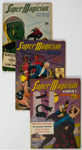 Golden Age (1938-1955):Miscellaneous, Super Magician Comics Group of 7 (Street & Smith, 1941-46) Condition: Average VG.... (Total: 7 )
