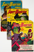 Golden Age (1938-1955):Miscellaneous, Super Magician Comics Group of 11 (Street & Smith, 1942-45) Condition: Average GD.... (Total: 11 )