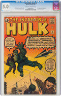 Silver Age (1956-1969):Superhero, The Incredible Hulk #3 (Marvel, 1962) CGC VG/FN 5.0 Cream to off-white pages....