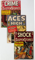Golden Age (1938-1955):Miscellaneous, EC Comics Group of 4 (EC, 1952-55).... (Total: 4 )