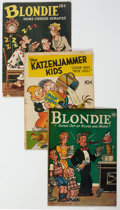 Golden Age (1938-1955):Humor, Feature Books Humor Group of 5 (David McKay Publications, 1943-46) Condition: Average VG-.... (Total: 5 )