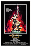 """Movie Posters:Action, Conan the Barbarian (Universal, 1982). Rolled, Very Fine. One Sheet (27"""" X 41""""). Advance, Renato Casaro Artwork. Action.. ..."""