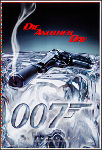 "Die Another Day (MGM, 2002). Rolled, Overall: Very Fine/Near Mint. Printer's Proof One Sheets (2) (28"" X 41"")..."