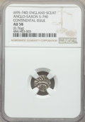 Great Britain, Great Britain: Anglo-Saxon. Continental Sceat ND (695-740) AU58 NGC,...