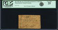 Colonial Notes:Massachusetts, Massachusetts June 18, 1776 4s 4d Contemporary Counterfeit PCGS Very Fine 25.. ...