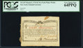 Colonial Notes:New York, New York March 5, 1776 (Water Works) 8s PCGS Very Choice New64PPQ.. ...