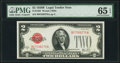 Small Size:Legal Tender Notes, Fr. 1503 $2 1928B Legal Tender Note. PMG Gem Uncirculated 65 EPQ.....