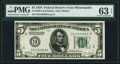 Small Size:Federal Reserve Notes, Fr. 1950-I $5 1928 Federal Reserve Note. PMG Choice Uncirculated 63 EPQ.. ...
