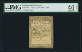 Colonial Notes:Continental Congress Issues, Continental Currency February 17, 1776 $2/3 PMG Extremely Fine 40 Net.. ...