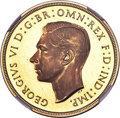 Great Britain: George VI gold Proof 2 Pounds 1937 PR65★ NGC