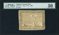 Colonial Notes:Virginia, Virginia May 7, 1781 $500 PMG About Uncirculated 50.. ...