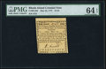 Colonial Notes:Rhode Island, Rhode Island May 22, 1777 $1/24 PMG Choice Uncirculated 64 EPQ.. ...
