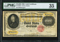 Large Size:Gold Certificates, Fr. 1225h $10,000 1900 Gold Certificate PMG Choice Very Fine 35.. ...