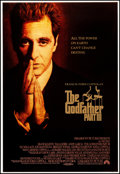 """Movie Posters:Crime, The Godfather Part III (Paramount, 1990). Rolled, Very Fine+. Embossed One Sheet (28"""" X 41"""") SS. Crime.. ..."""