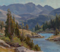 Paintings, Clyde Aspevig (American, b. 1951). Pass Lake. Oil on panel. 10 x 12 inches (25.4 x 30.5 cm). Signed lower right: Aspev...