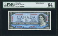 Canada Bank of Canada $5 1954 BC-39S Specimen PMG Choice Uncirculated 64