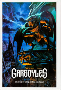 "Gargoyles (Buena Vista Television, 1994). Rolled, Very Fine+. Printer's Proof One Sheet (28"" X 41"") SS, Don Ku..."