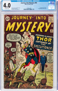 Silver Age (1956-1969):Superhero, Journey Into Mystery #84 (Marvel, 1962) CGC VG 4.0 Off-white pages....