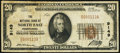 National Bank Notes:Pennsylvania, North East, PA - $20 1929 Ty. 1 The NB of North East Ch. # 9149 Very Fine.. ...