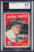 Baseball Cards:Singles (1950-1959), 1959 Topps Mickey Mantle #10 BVG EX-MT+ 6.5....