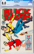 Golden Age (1938-1955):Science Fiction, Buck Rogers #2 (Eastern Color, 1941) CGC VF 8.0 Off-white to white pages....