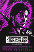 """Movie Posters:Action, Streets of Fire (Universal, 1984). Rolled, Very Fine+. One Sheets (5) (27"""" X 41"""" & 27"""" X 40"""") Advance 4 Styles & Regular Sty... (Total: 5 Items)"""