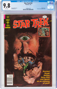 Star Trek #53 (Gold Key, 1978) CGC NM/MT 9.8 White pages