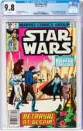 Modern Age (1980-Present):Science Fiction, Star Wars #43 (Marvel, 1981) CGC NM/MT 9.8 White pages....