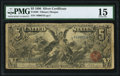 Large Size:Silver Certificates, Fr. 268 $5 1896 Silver Certificate PMG Choice Fine 15.. ...