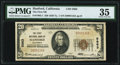 National Bank Notes:California, Hanford, CA - $20 1929 Ty. 1 The First NB Ch. # 5863 PMG Choice Very Fine 35.. ...