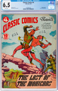 Golden Age (1938-1955):Classics Illustrated, Classic Comics #4 The Last of the Mohicans - Original Edition (Gilberton, 1942) CGC FN+ 6.5 White pages....