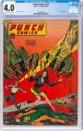Golden Age (1938-1955):Superhero, Punch Comics #19 (Chesler, 1946) CGC VG 4.0 Cream to off-white pages....
