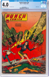 Punch Comics #19 (Chesler, 1946) CGC VG 4.0 Cream to off-white pages