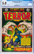 Golden Age (1938-1955):Horror, Startling Terror Tales #12 (Star Publications, 1952) CGC VG/FN 5.0 Cream to off-white pages....