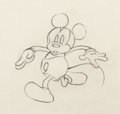Animation Art:Production Drawing, Giantland Mickey Mouse and Giant Animation Drawing (Walt Disney, 1933). ... (Total: 2 Original Art)