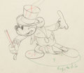 Animation Art:Production Drawing, Mickey's Circus Mickey Mouse Animation Drawing (Walt Disney, 1936). ...