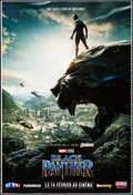 "Movie Posters:Action, Black Panther (Walt Disney Studios, 2018). Rolled, Very Fine. French Grande Printer's Proof (46.75"" X 69""). Action.. ..."