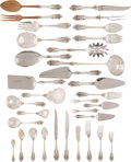 Silver & Vertu:Flatware, A One Hundred and Fifty-Four-Piece Wallace Grand Baroque Pattern Silver Flatware Service, Wallingford, Connectic... (Total: 154 Items)