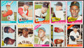 Baseball Cards:Lots, 1964 to 1966 Topps Baseball Collection (354) with 1966 Mantle. ...