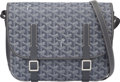 "Luxury Accessories:Bags, Goyard Gray Goyardine Coated Canvas Belvedere MM Bag. Condition: 1. 11"" Width x 8"" Height x 3.5"" Depth. ..."