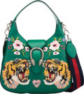 """Luxury Accessories:Bags, Gucci Emerald Green Small Dionysus Hobo Bag. Condition: 1. 12.5"""" Width x 12"""" Height x 2"""" Depth. ..."""