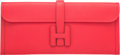"""Luxury Accessories:Bags, Hermès 35cm Rouge Tomate Epsom Leather Jige Elan Clutch. N Square, 2010. Condition: 2. 13.5"""" Width x 6"""" Height x 1..."""
